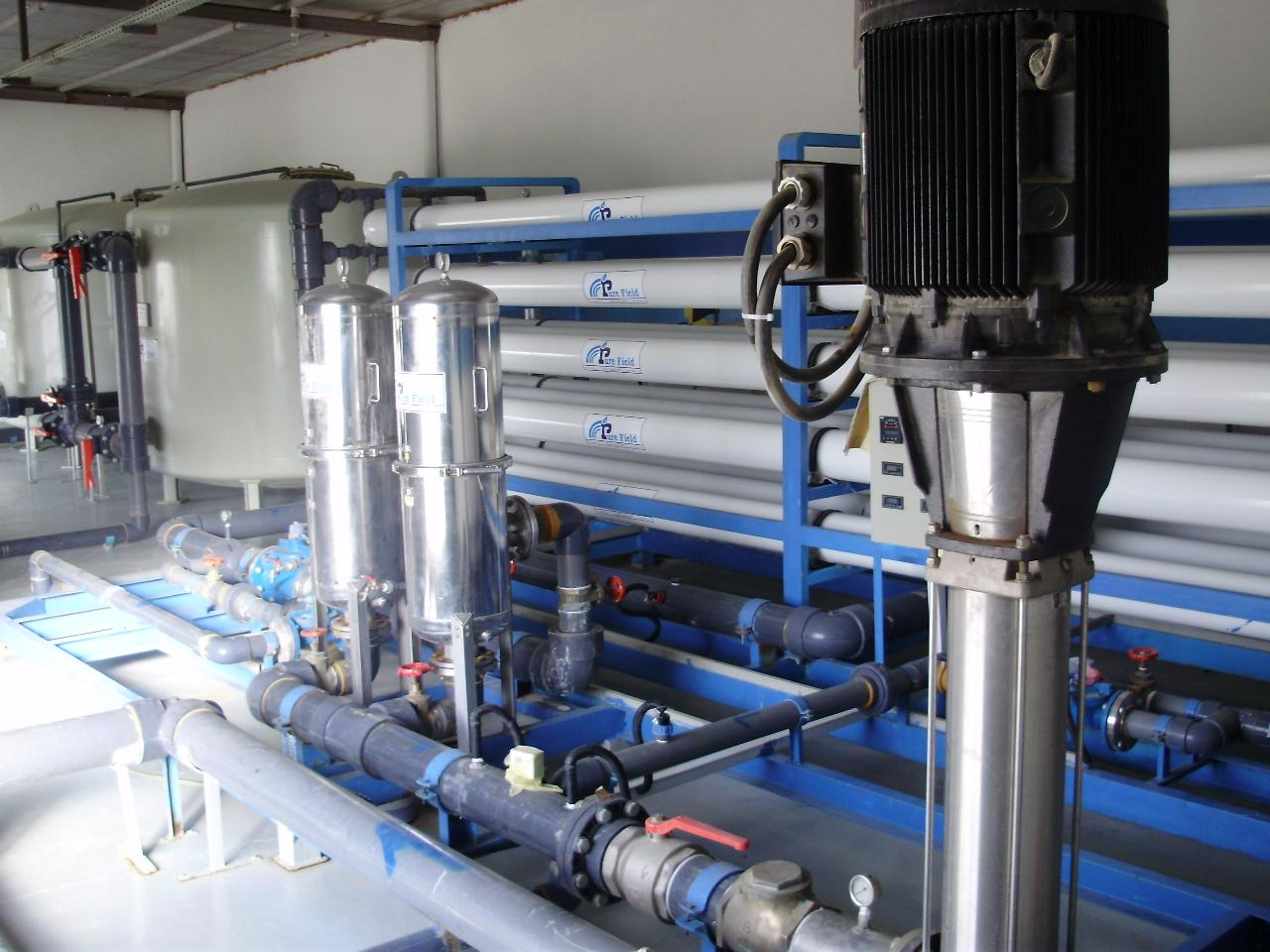2000 m3/day Reverse Osmosis Plant